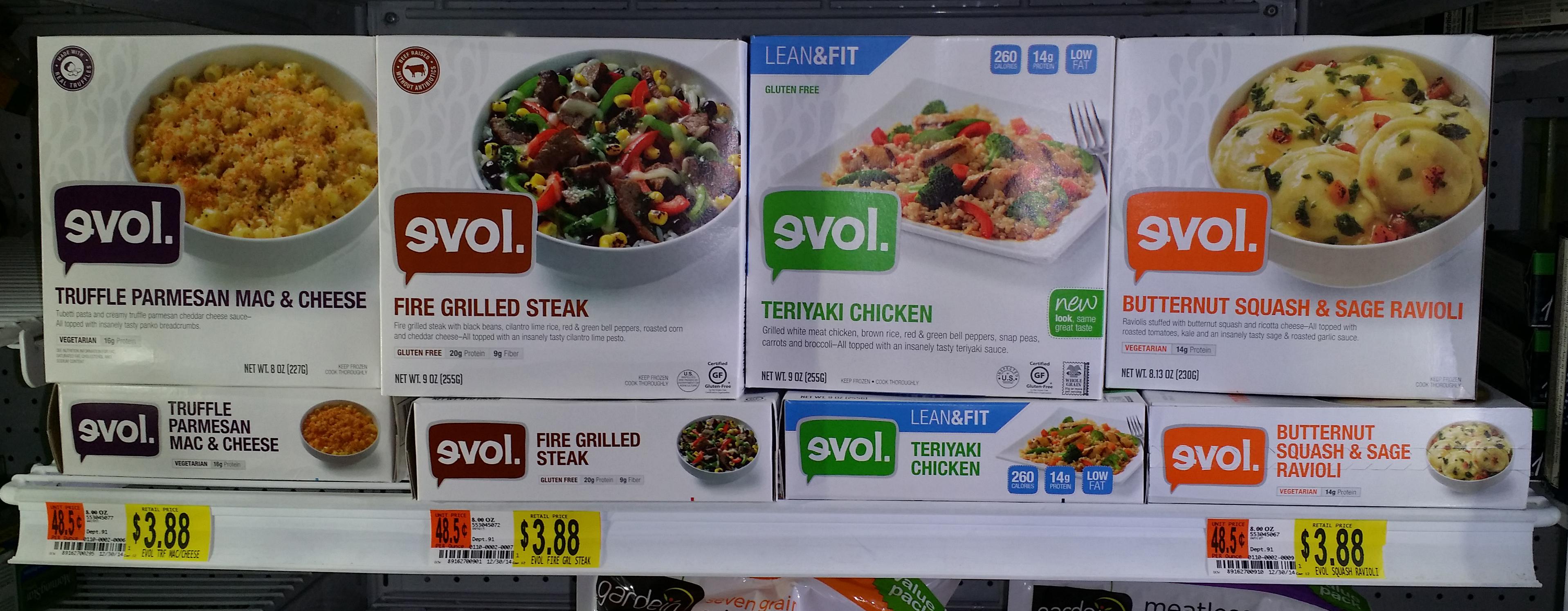 EVOL Frozen Single-Serve Meal Just $2.88 at Walmart!