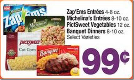 Walmart Price Match Deal: Banquet Dinners Just $.37 Each!