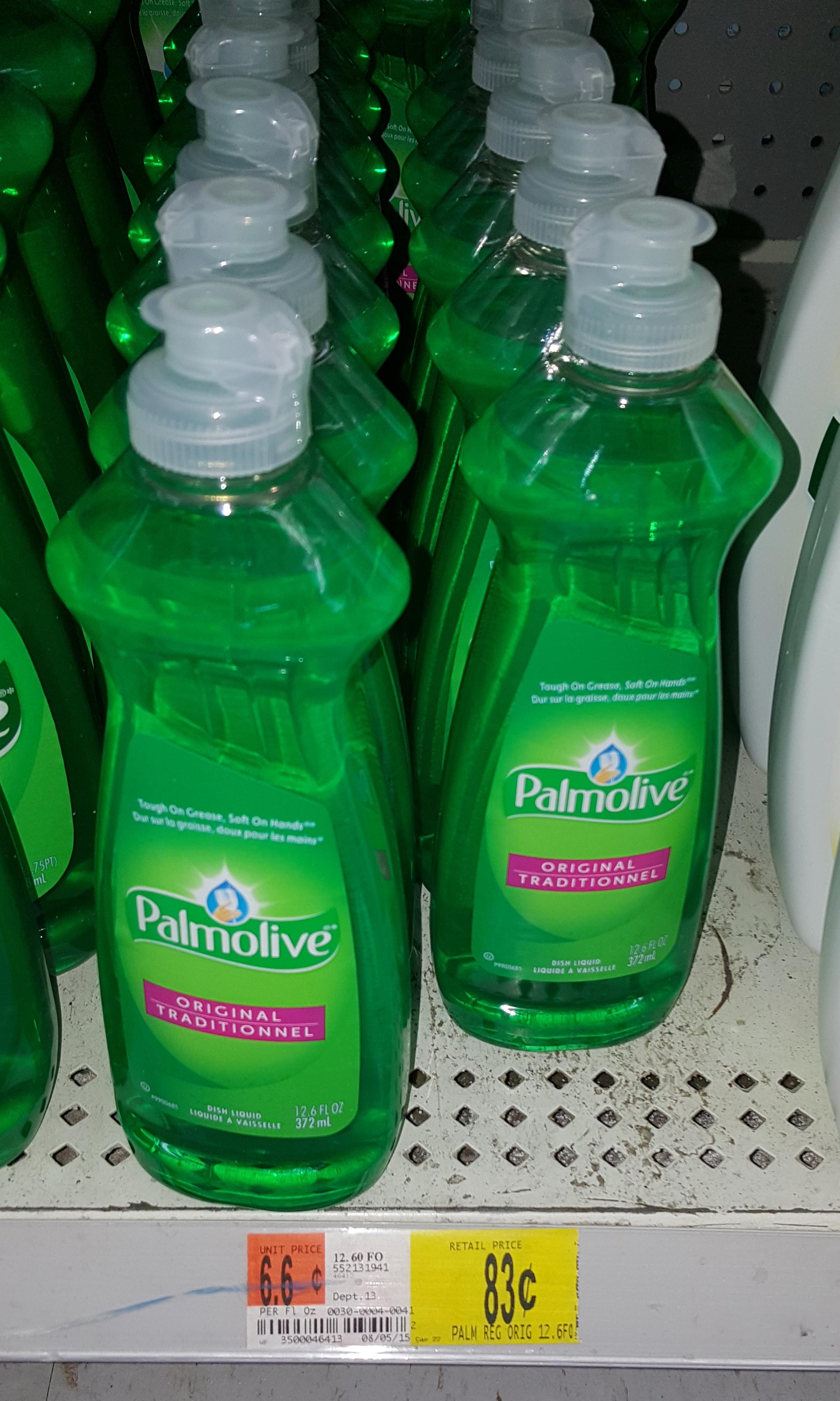 Palmolive Dish Soap Just $.58 at Walmart!