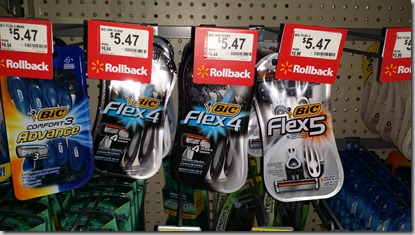 Bic Flex 5 Razors Just $3.47 at Walmart!