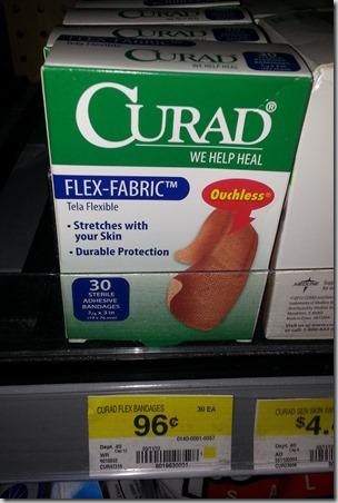 Curad Bandages Just $.21 at Walmart!