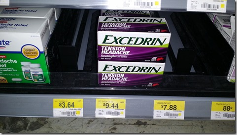 Excedrin Products Starting at $2.14 at Walmart!