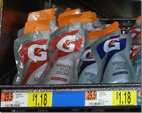 Gatorade Just $0.18 At Walmart!