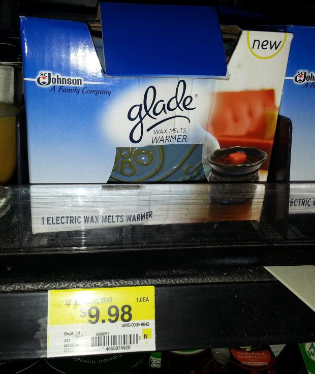 Glade Wax Melt Warmer Just $1.98 At Walmart