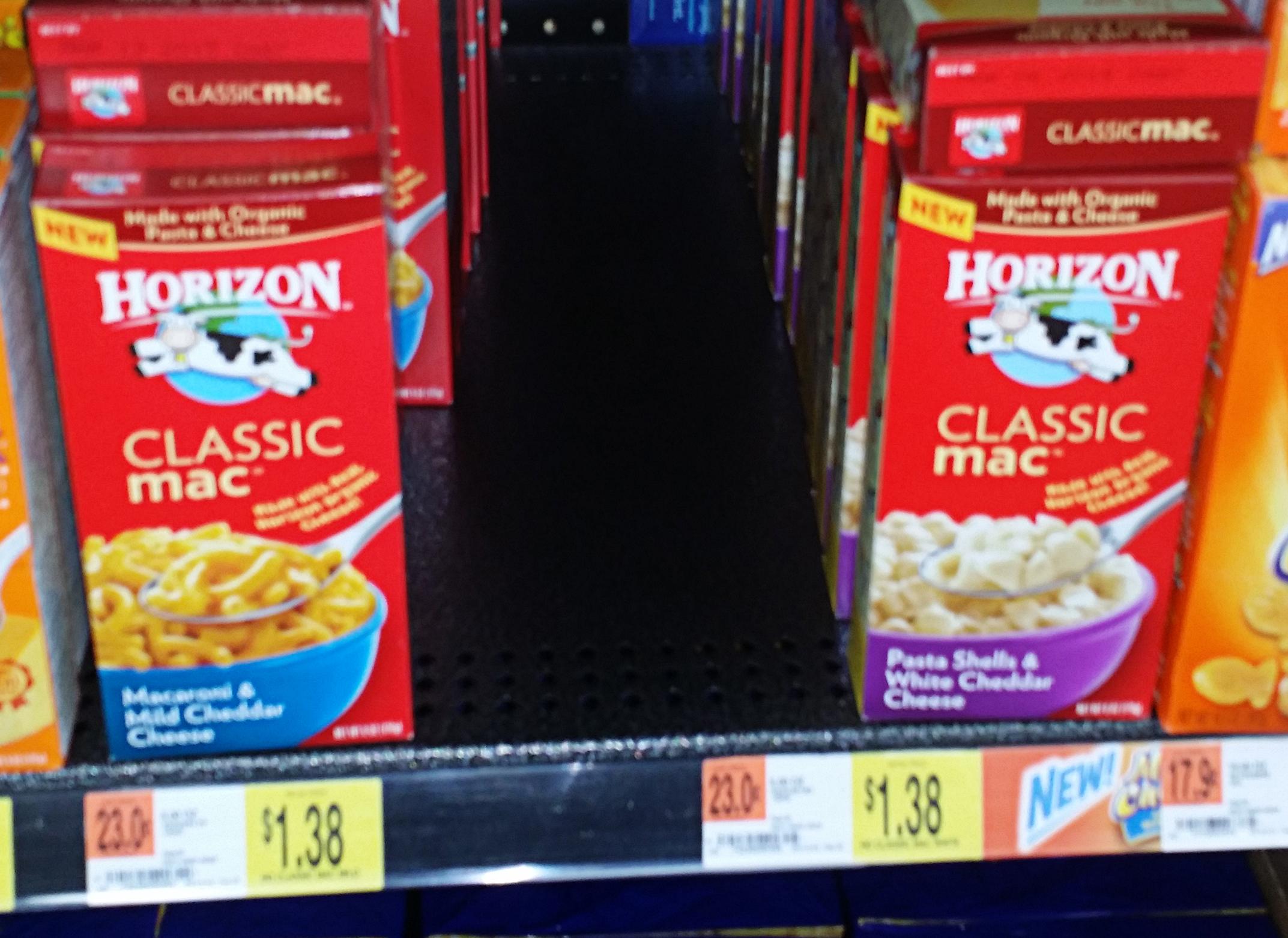 Horizon Mac and Cheese Just $1.01 at Walmart!