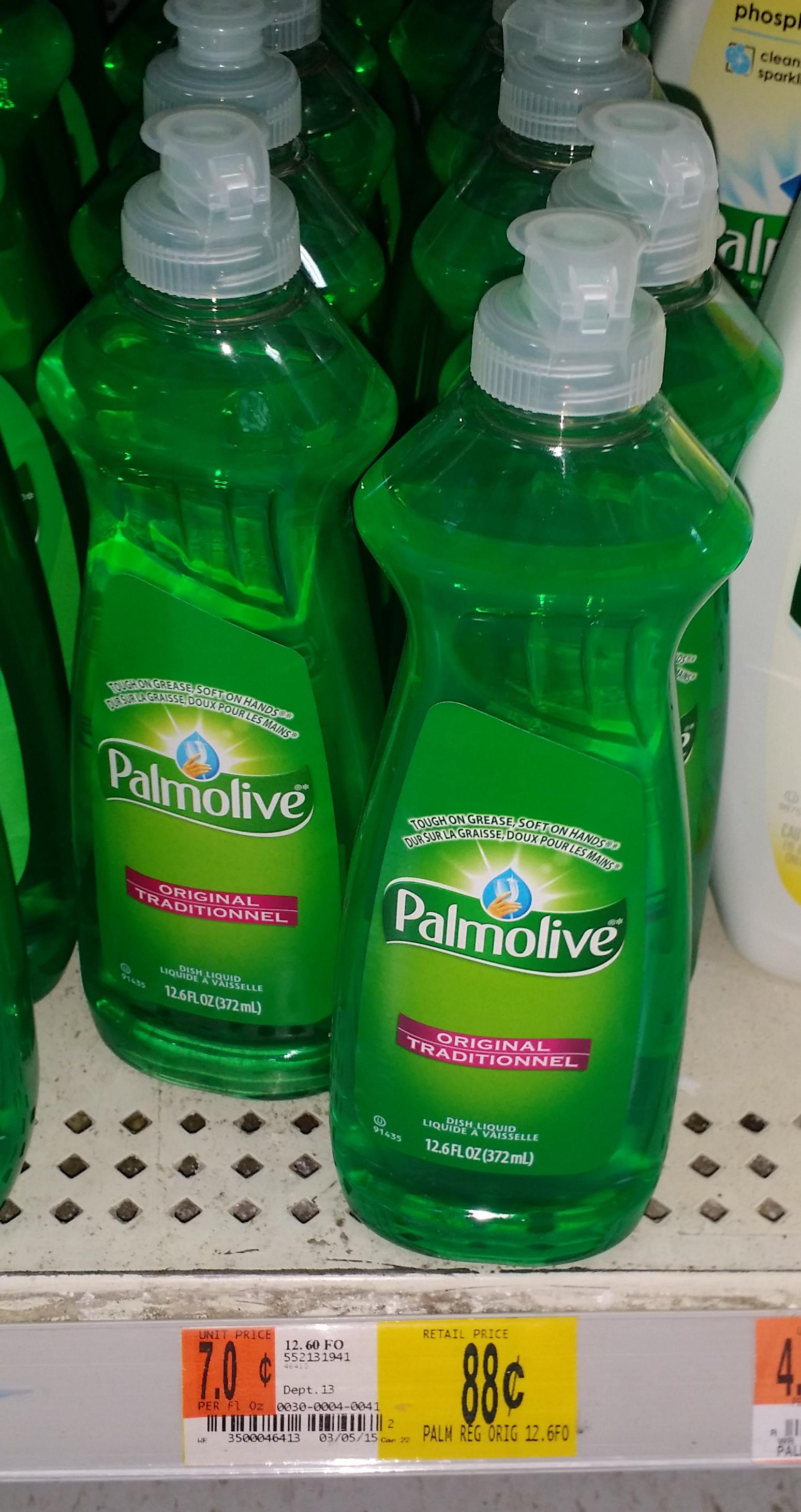 Palmolive Dish Soap Just $.63 at Walmart!