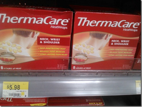 FREE ThermaCare Heatwraps at Walmart!