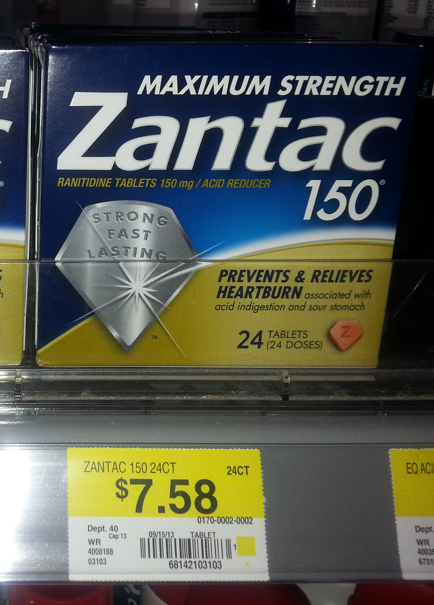 Zantac Just $5.58 at Walmart!