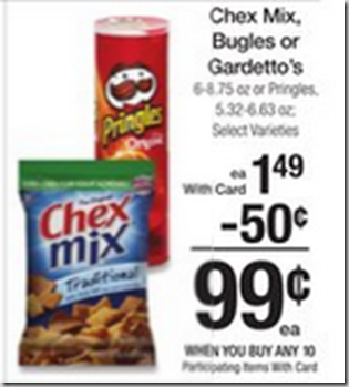 Walmart Price Match Deal: Pringles Just $ 45!