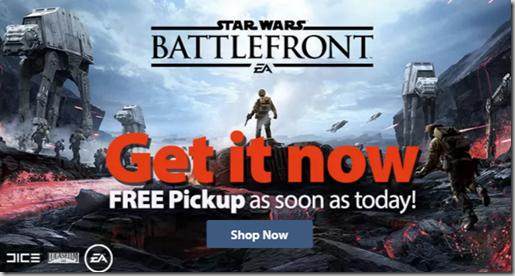 Star Wars Battlefront On Sale Now!