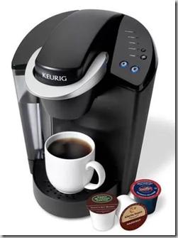 Keurig Elite K40 Single Serve Coffeemaker Brewing System for $79.97!