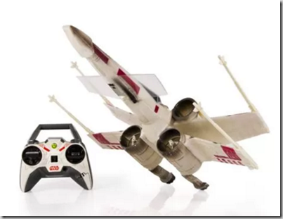 Walmart Black Friday Rollback Deal: Save $10.86 on an Air Hogs Star Wars X-Wing Remote Control Drone!
