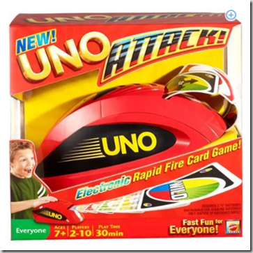 Walmart Rollback Toy Deal: Uno Attack! Just $18.12!