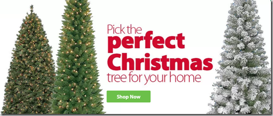 Walmart Has All Their Christmas Trees On Sale!