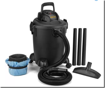 Walmart Rollback Deal: 5 Gal Wet/Dry ShopVac for Half Price!