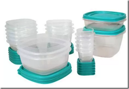 Walmart Rollback Deal: Rubbermaid 30pc Food Storage Set Just $11.97!