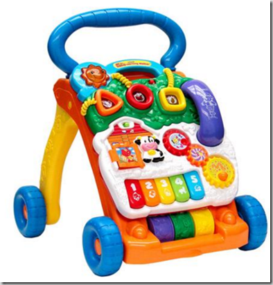 Walmart Rollback Deal: VTech Sit-To-Stand Learning Walker for Toddlers Just $20, Normally $34!