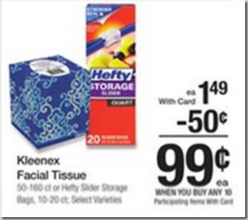 Walmart Price Match Deal: Hefty Slider Bags Just $.49!