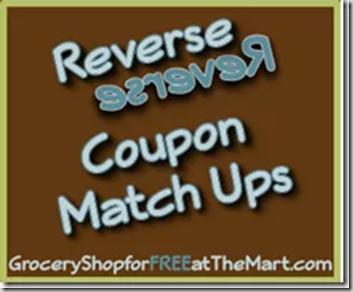 11/15 Reverse Coupon Matchups!