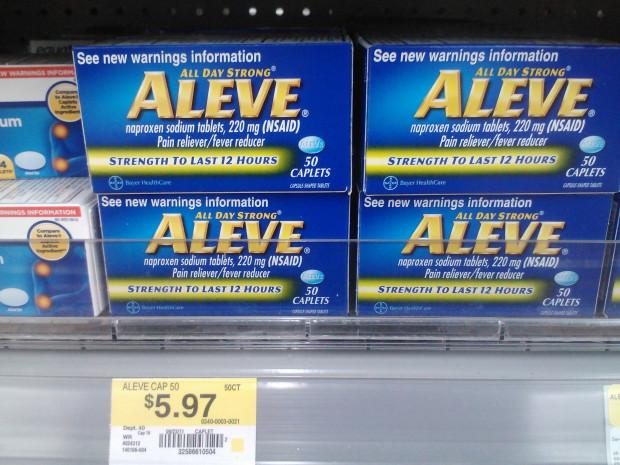 Aleve Just $3.97 at Walmart!