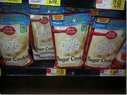 Betty Crocker Cookie Mix Just $.33 at Walmart!