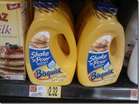 Bisquick Pancake Mix Just $.82 at Walmart!