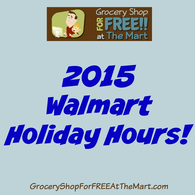 Walmart Hours On New Years Eve