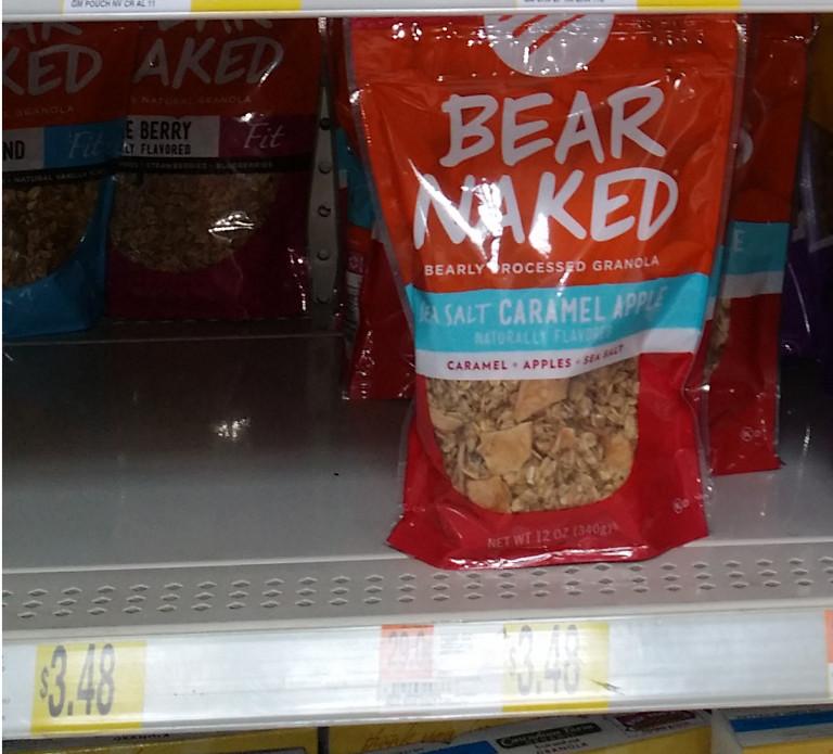 Bear Naked Granola Just $3.18 At Walmart!