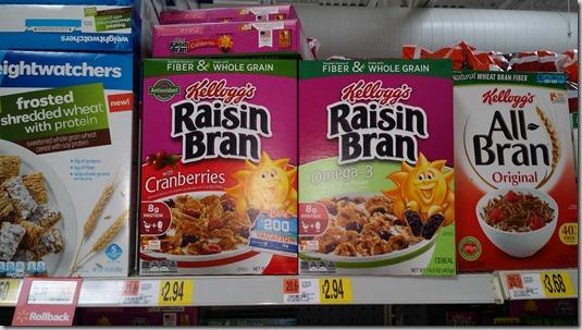 Kellogg's Cereal Just $2.21 a Box at Walmart!
