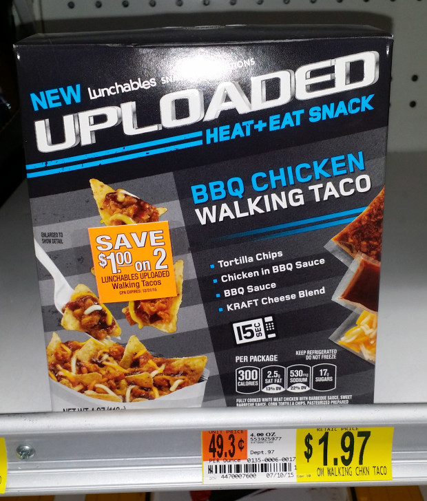Lunchables Uploaded Walking Tacos Just $1.22 at Walmart!