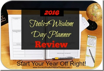 2016 Tools4Wisdom Day Planner Review!