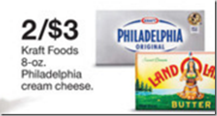 Walmart Price Match Deal: Philadelphia Cream Cheese Just $1.00!