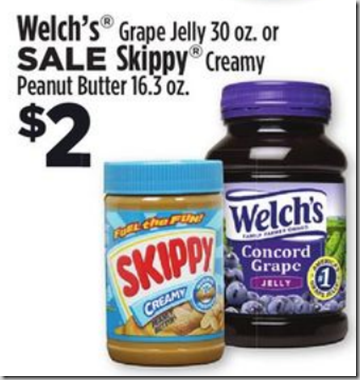 Rare Printable Coupon and Price Match for Skippy Peanut Butter!