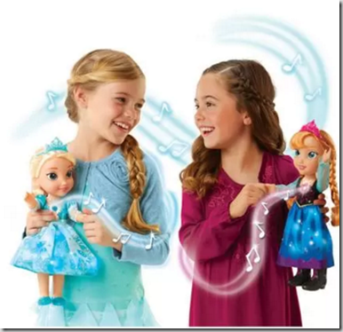 Walmart Exclusive: Frozen Singing Sisters Elsa and Anna Dolls Just $48.88!