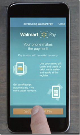 Walmart Just Announced Walmart Pay, a Way to Pay Electronically From Your Smartphone!