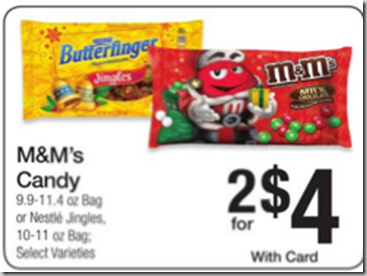 Walmart Price Match Deal: Big Bags of M&M's Just $.87 Each!