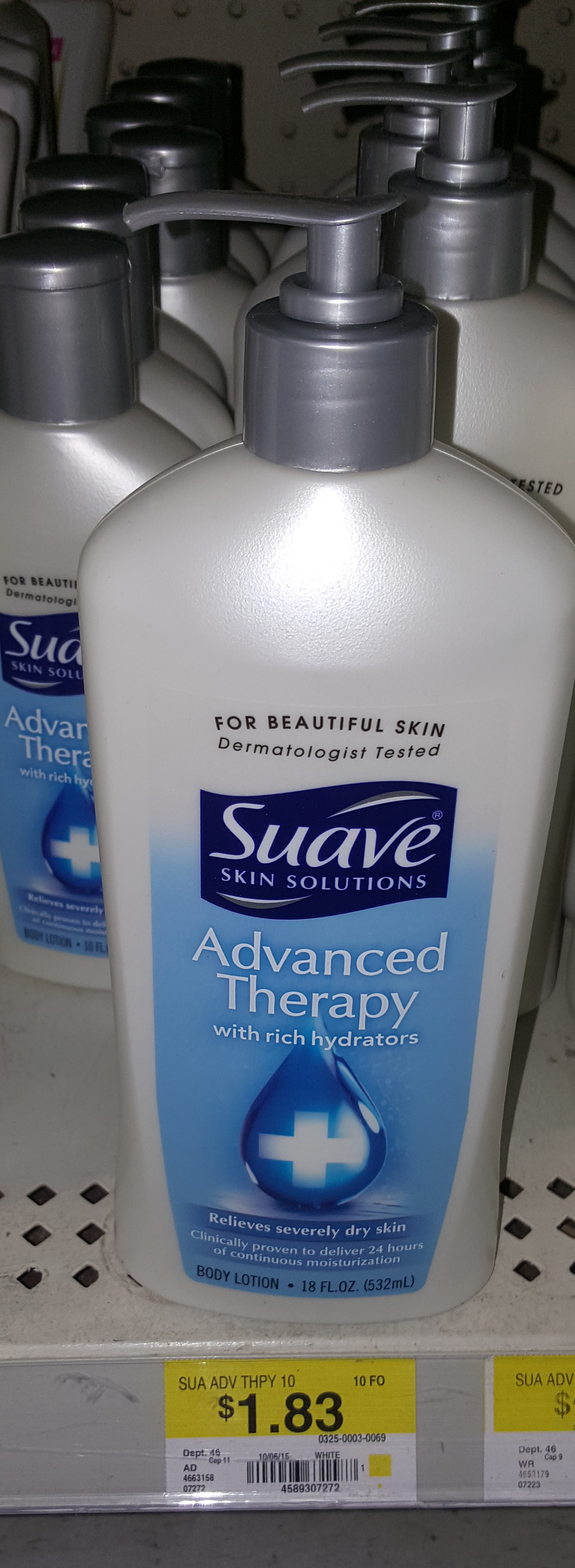 Suave Advanced Therapy Lotion Just $.83 at Walmart!