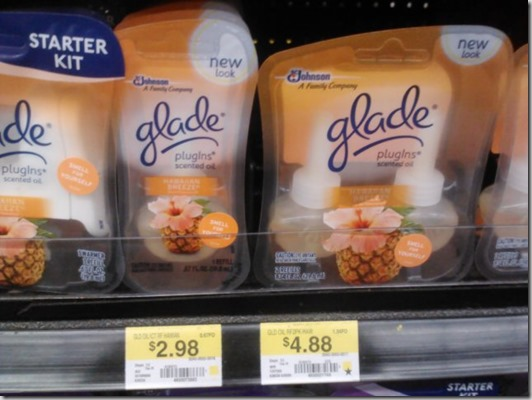 FREE Glade Warmers with Overage at Walmart!