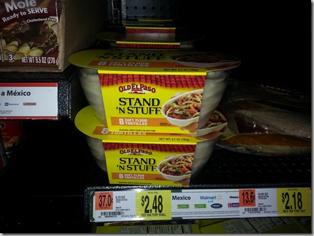 Old El Paso Products Starting at $.12 Each at Walmart!