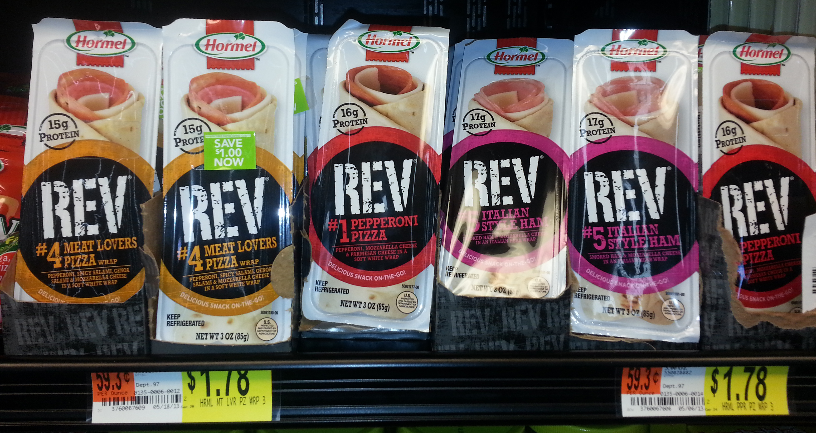 Hormel Rev Wraps Just $1.28 at Walmart!