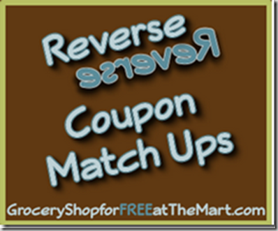 1/10 Reverse Coupon Matchups!