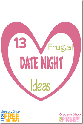 13 Frugal Date Night Ideas!