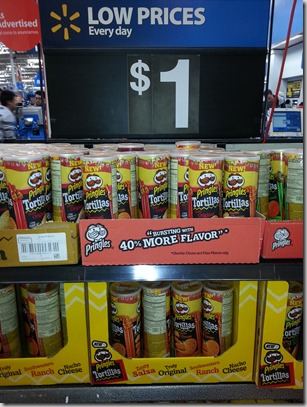 Dr Pepper and Pringles Just $.73 Each at Walmart!