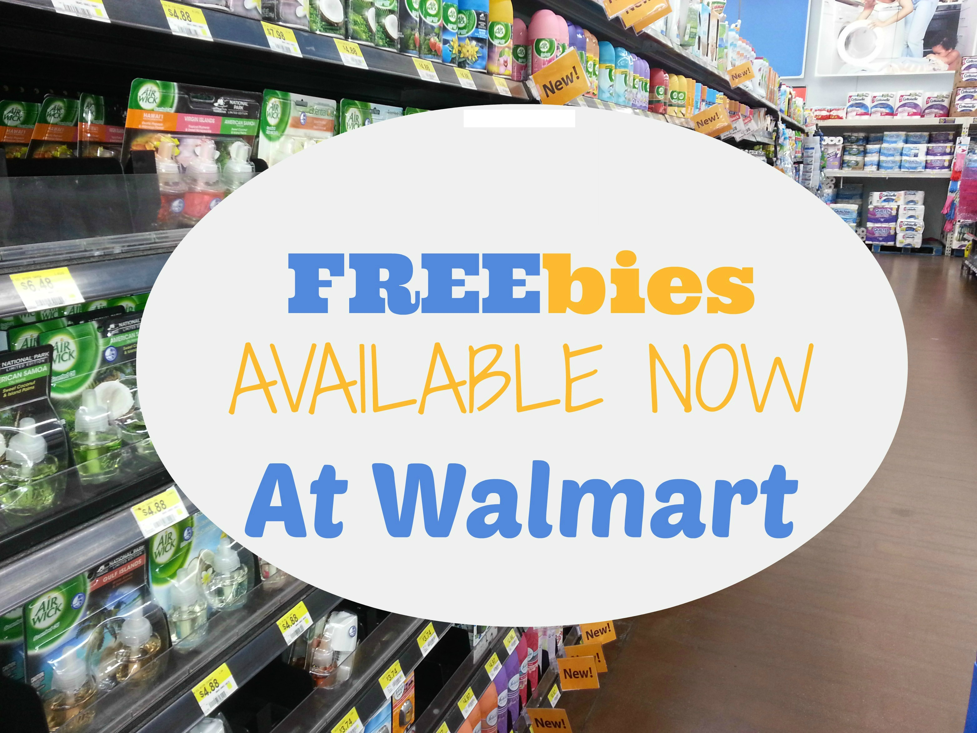 UPDATED: 12 FREE Products Available NOW at Walmart!