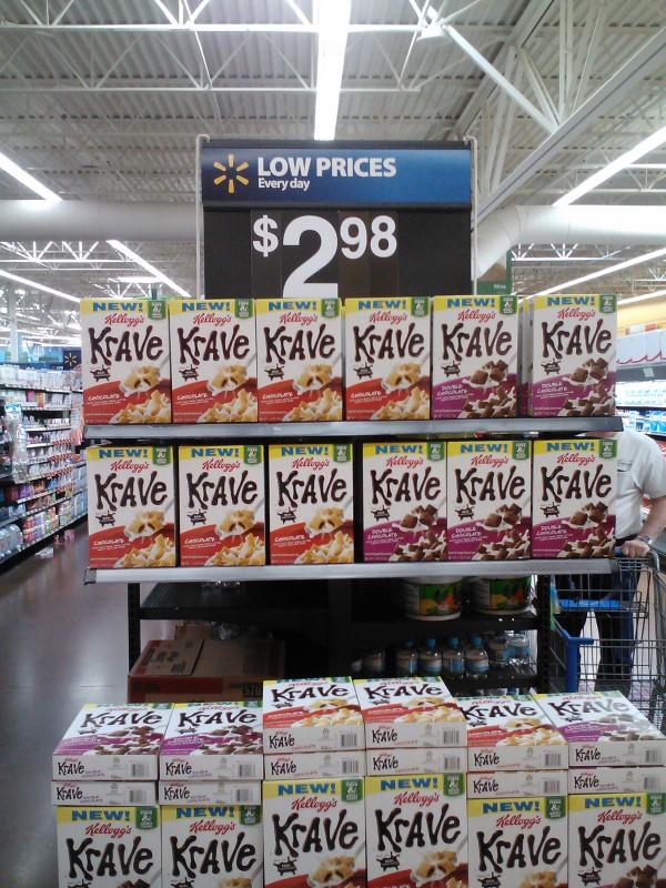 Kellogg's Krave Cereal 3-27-12