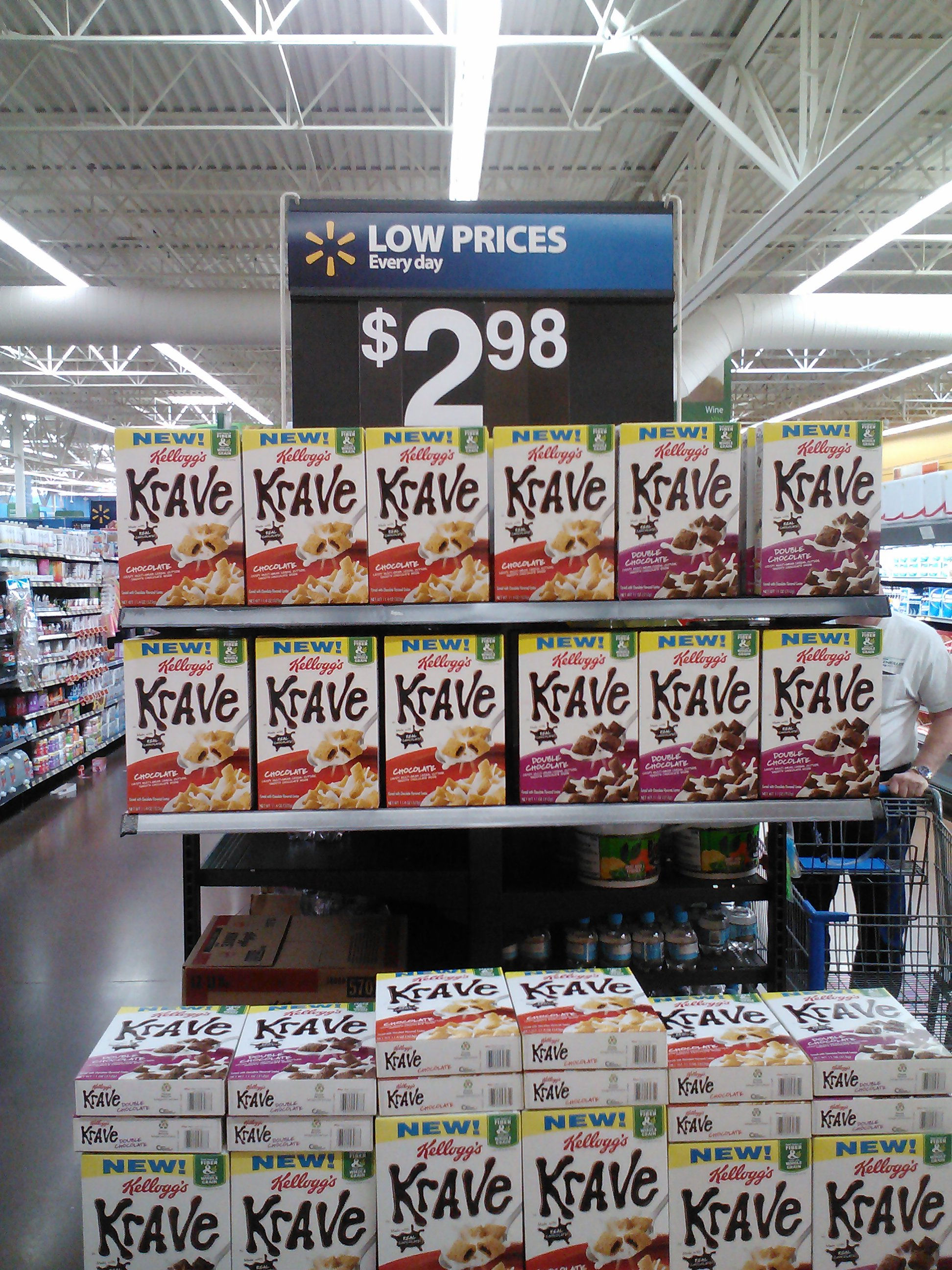 Kellogg's Krave Cereal 3-27-12