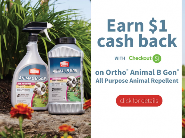 Save $1.00 on Ortho Animal B Gon!