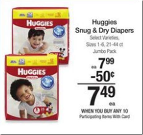 Walmart Price Match Deal: Huggies Diapers Just $4.49!