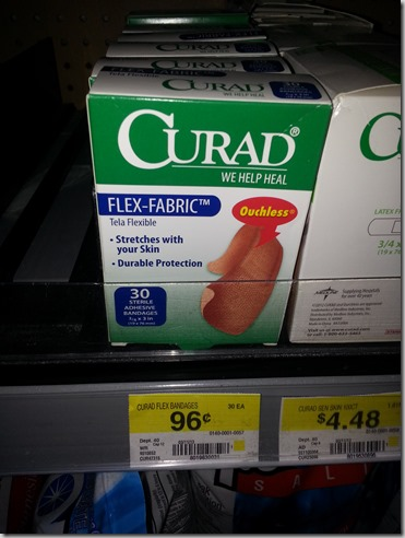 FREE Curad Bandages with Overage at Walmart!