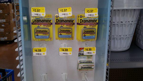 Dramamine Non-Drowsy Naturals Just $3 88 At Walmart!